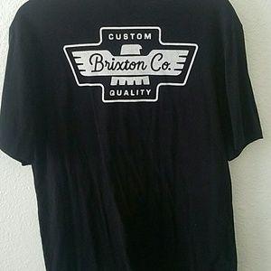 Brixton manufacturing shirt medium